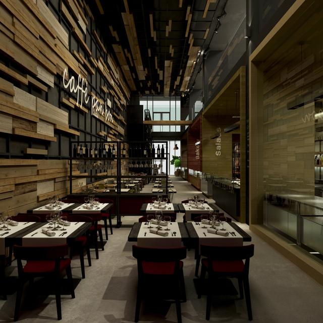 Restaurant, Bäckerei, Konditorei <br>  in San Diego, USA<br> Typ: Vorentwurf und Projektrealisierung<br>