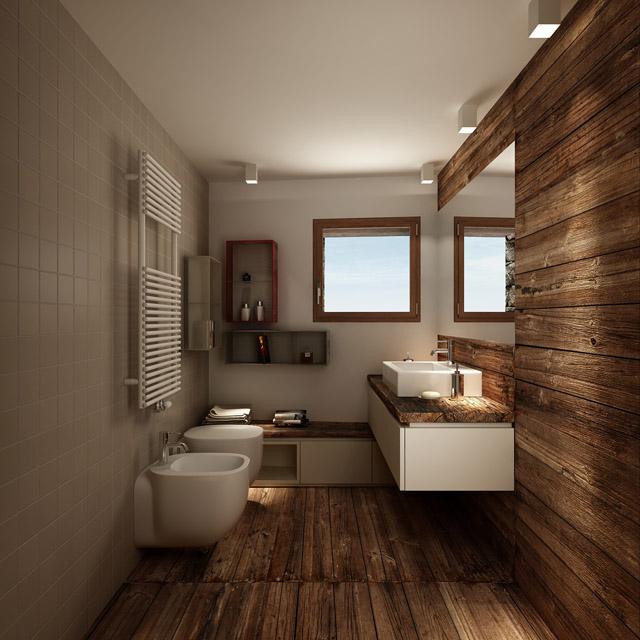 Privathaus<br> Ort: Valtournenche, Italien<br> Typ: vorläufige und exekutive Innen- und Außendesign<br>