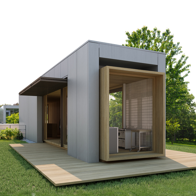 Privater Luxus Pavillon <br> Standort: Italien<br> Typ: Vorentwurf<br>